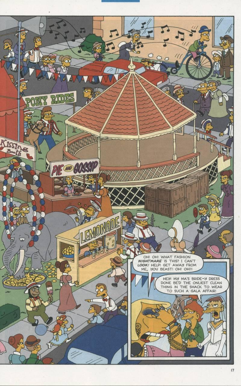 Read online Simpsons Comics comic -  Issue #67 - 18