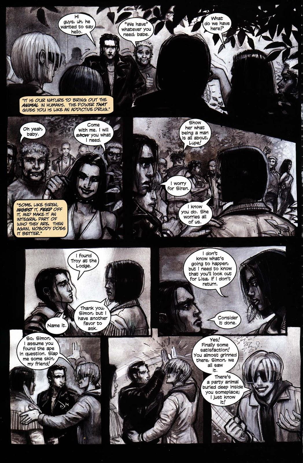 Read online Werewolf the Apocalypse comic -  Issue # Black Furies - 14