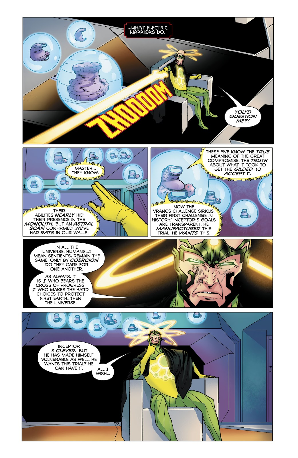 Read online Electric Warriors comic -  Issue #4 - 18