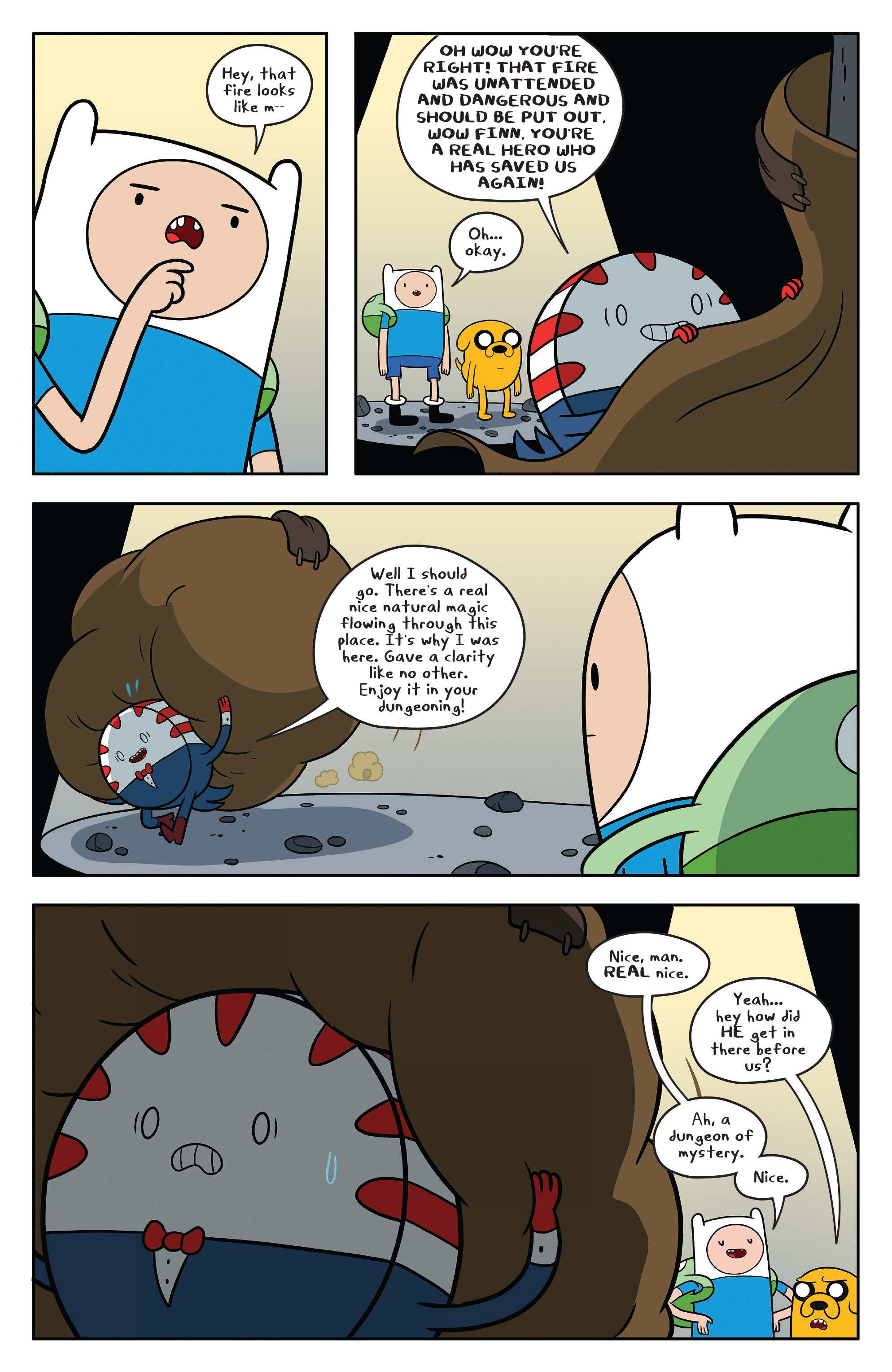 Read online Adventure Time comic -  Issue #58 - 14