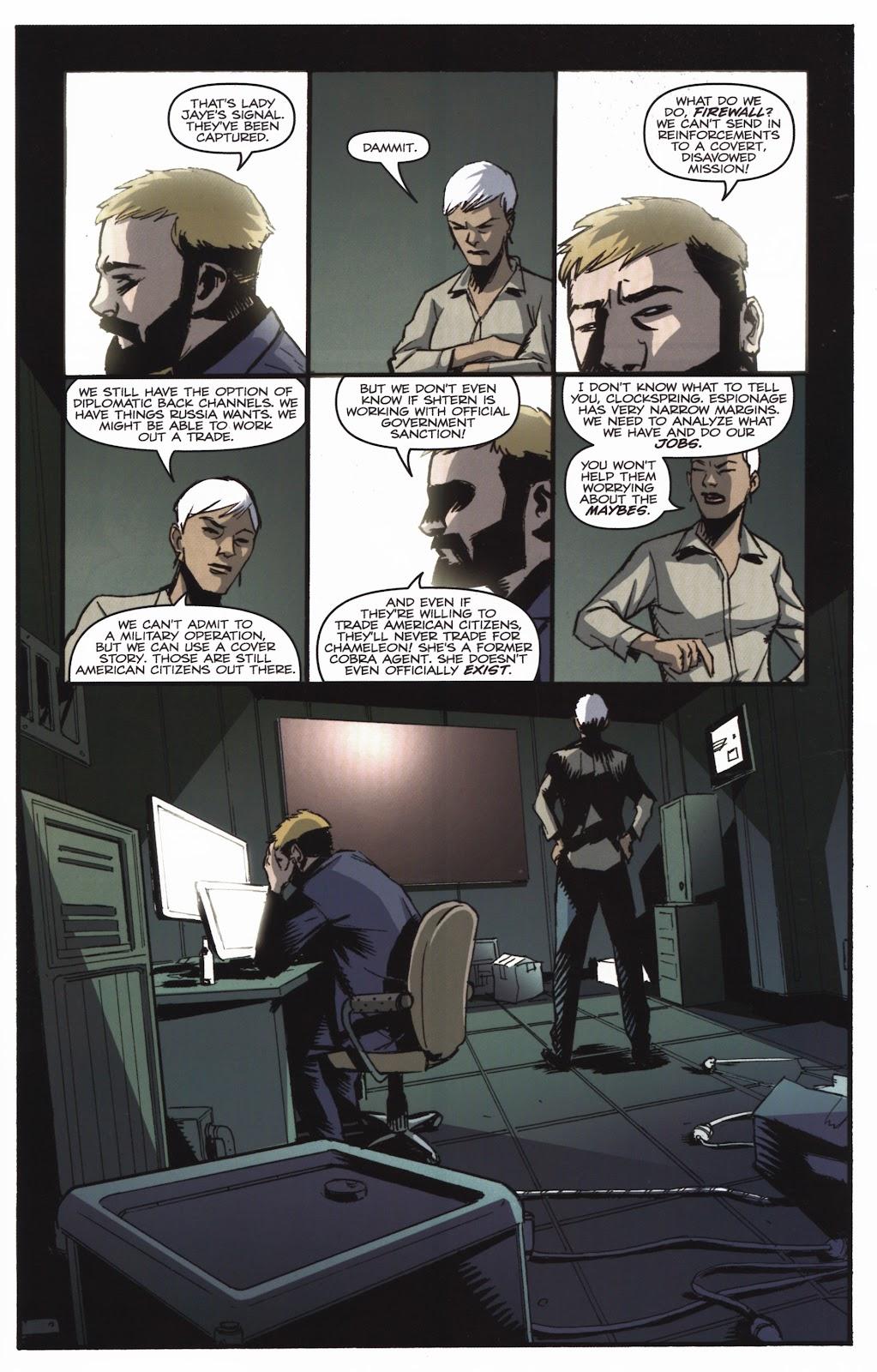 G.I. Joe Cobra (2011) Issue #20 #20 - English 23