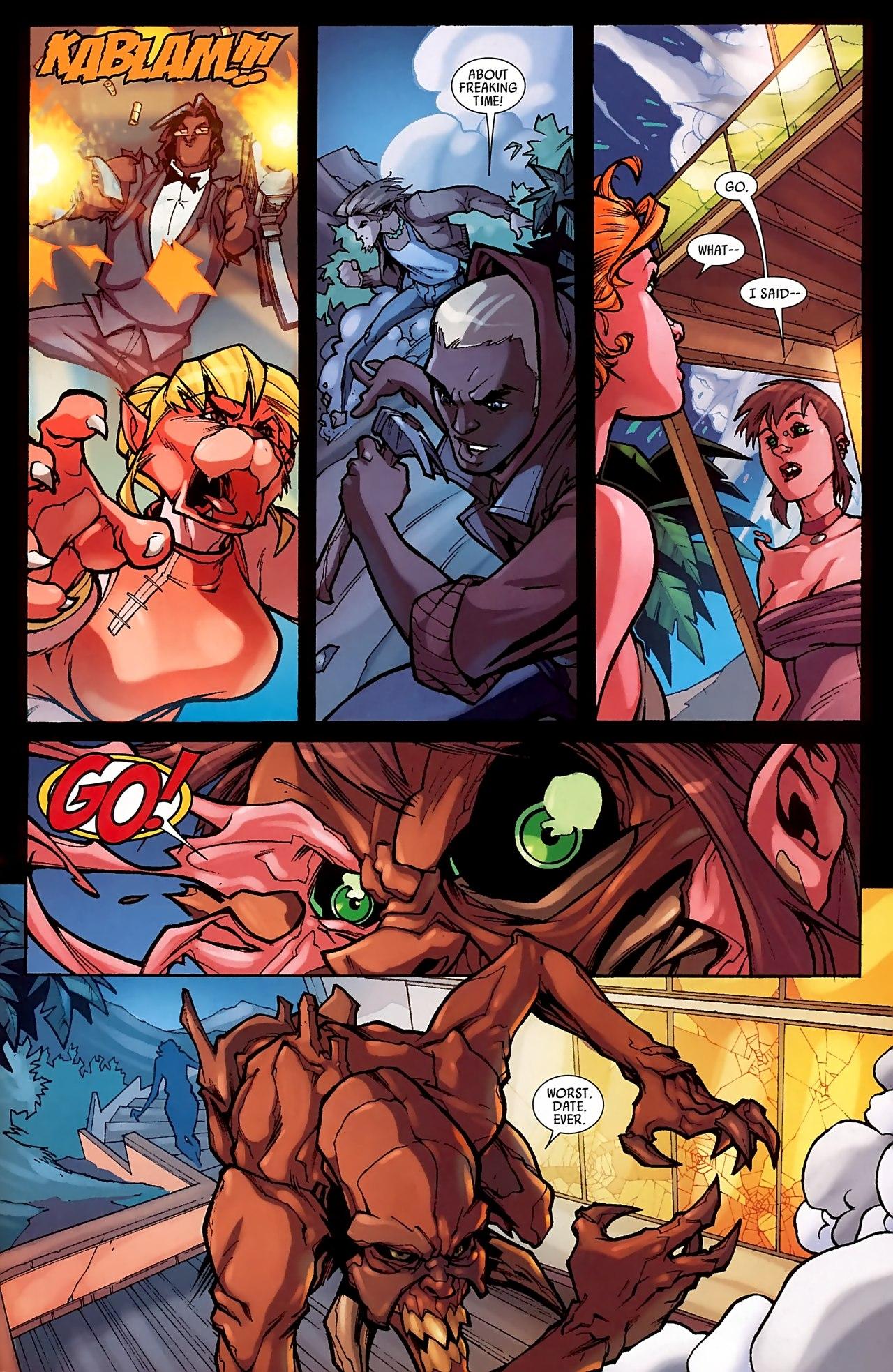 Read online Skrull Kill Krew (2009) comic -  Issue #3 - 20