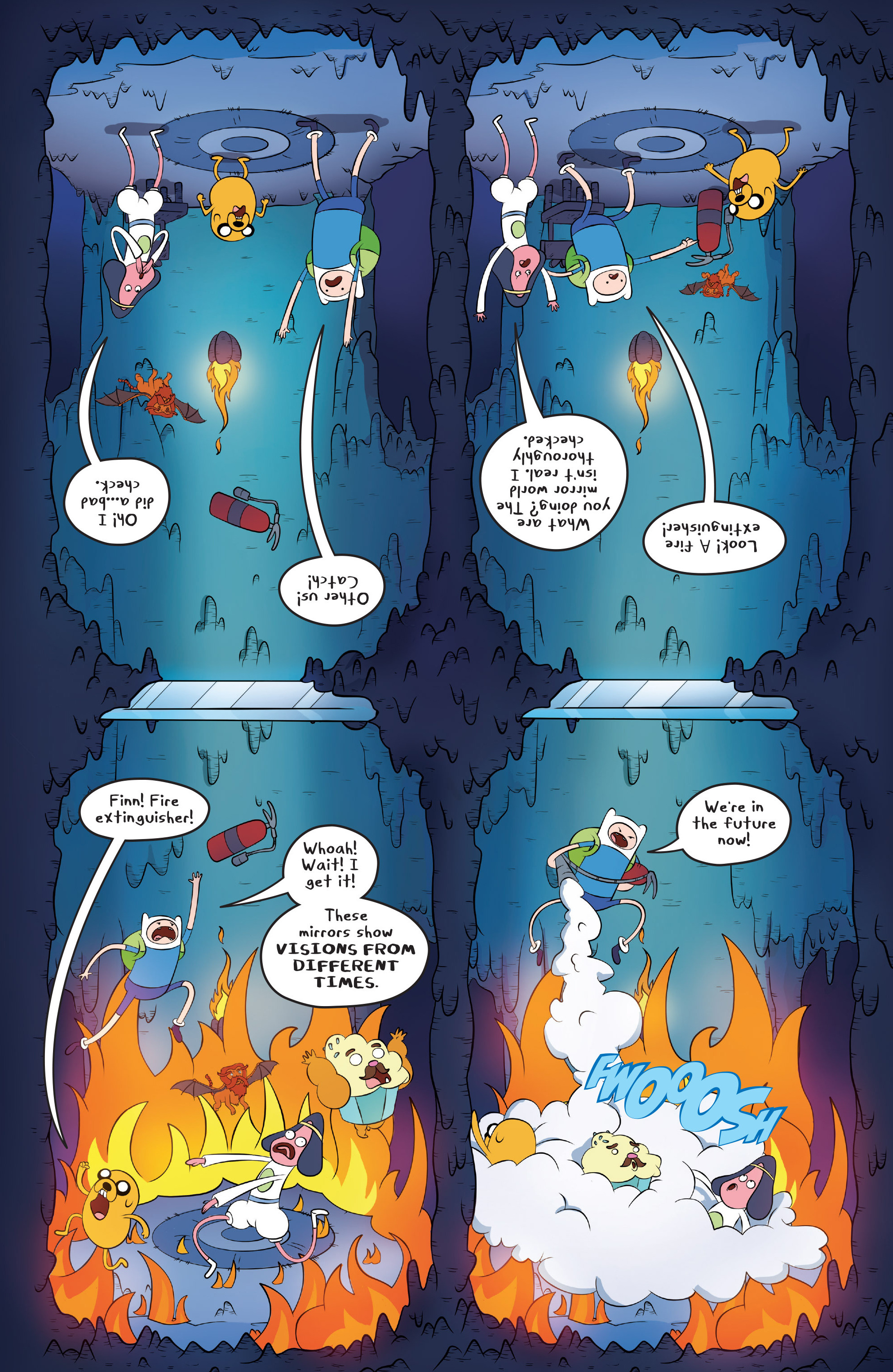 Read online Adventure Time comic -  Issue #45 - 19