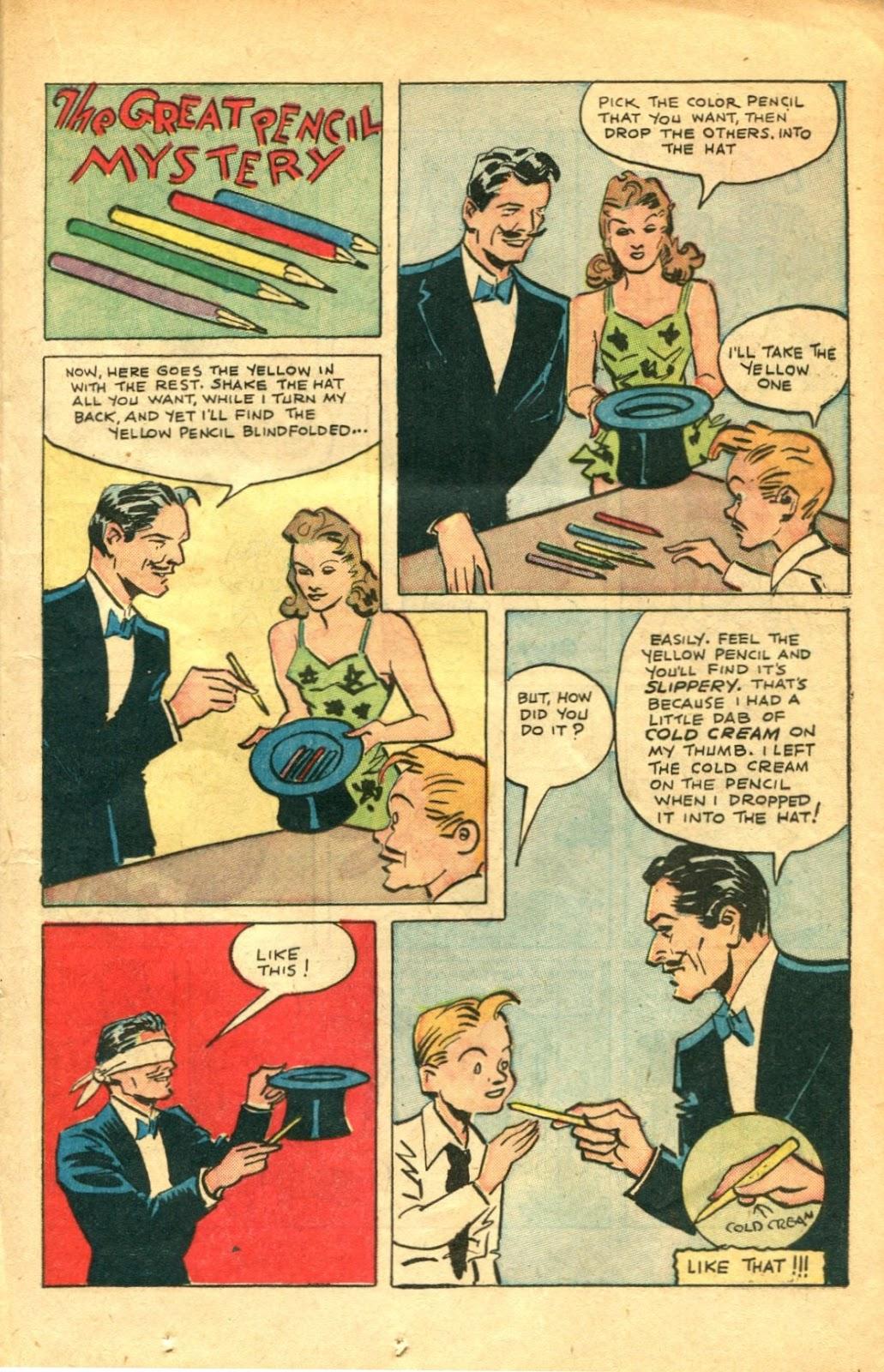 Read online Super-Magician Comics comic -  Issue #48 - 21