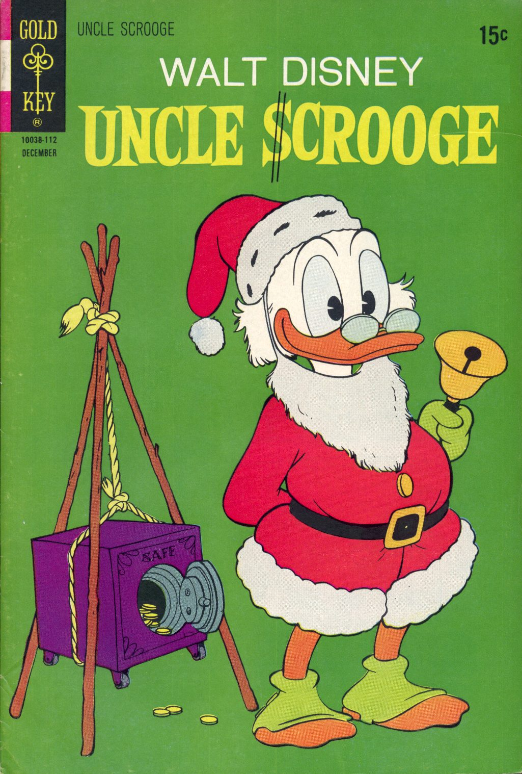 Read online Uncle Scrooge (1953) comic -  Issue #96 - 1
