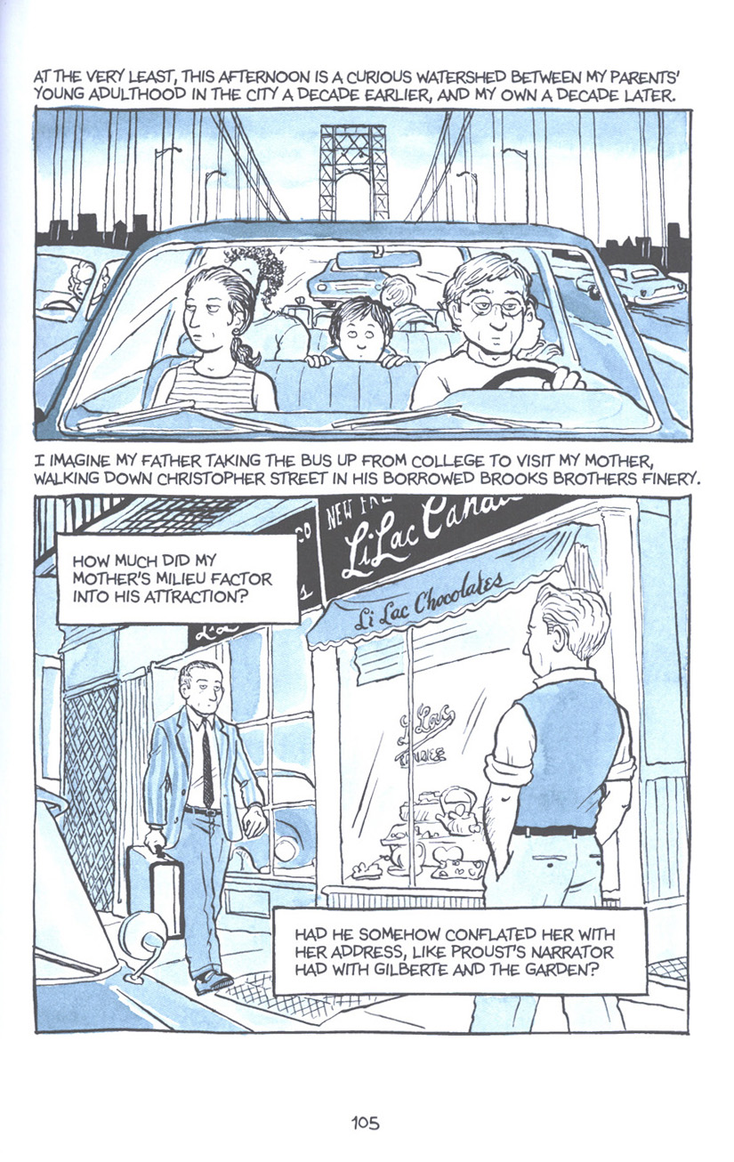 Read online Fun Home: A Family Tragicomic comic -  Issue # TPB - 111