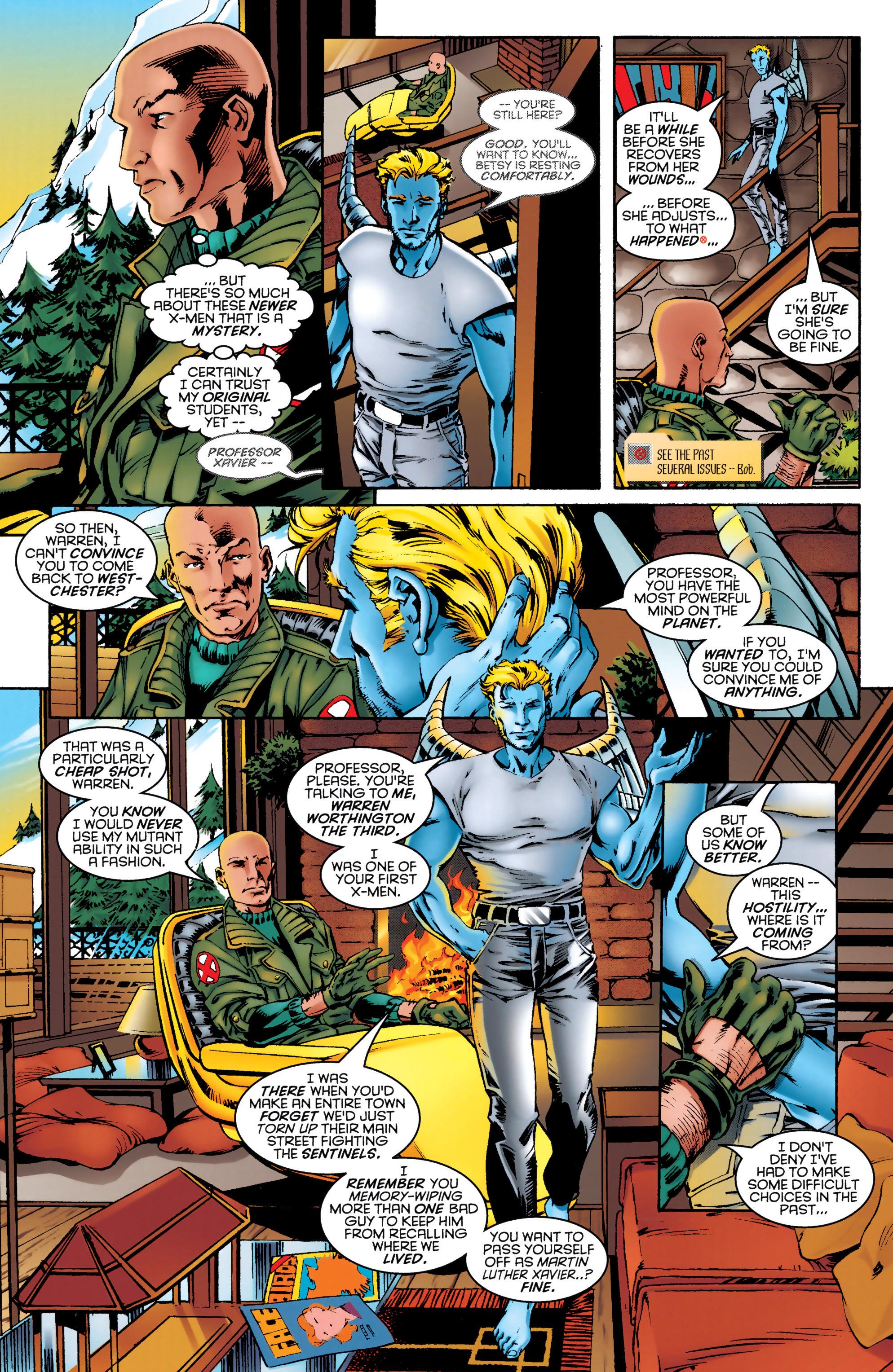 Read online Uncanny X-Men (1963) comic -  Issue #331 - 8