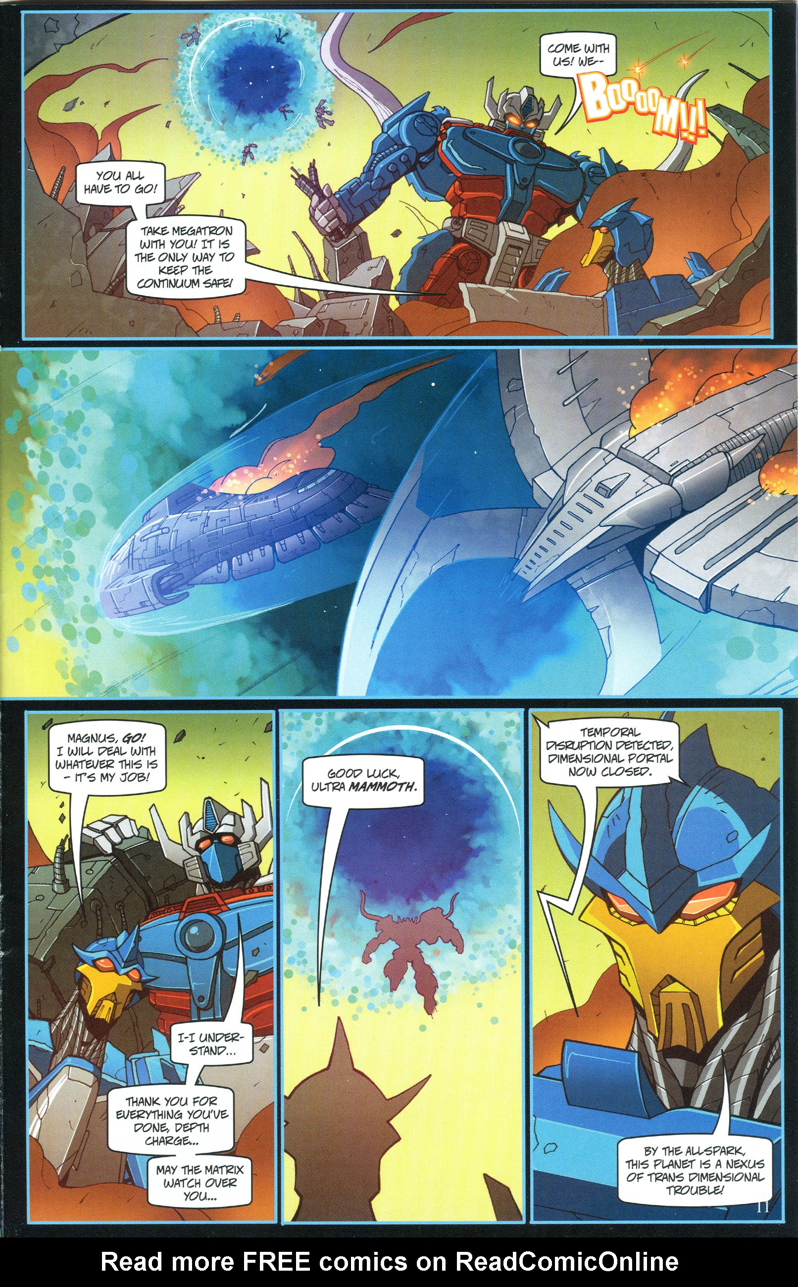 Read online Transformers: Collectors' Club comic -  Issue #54 - 11