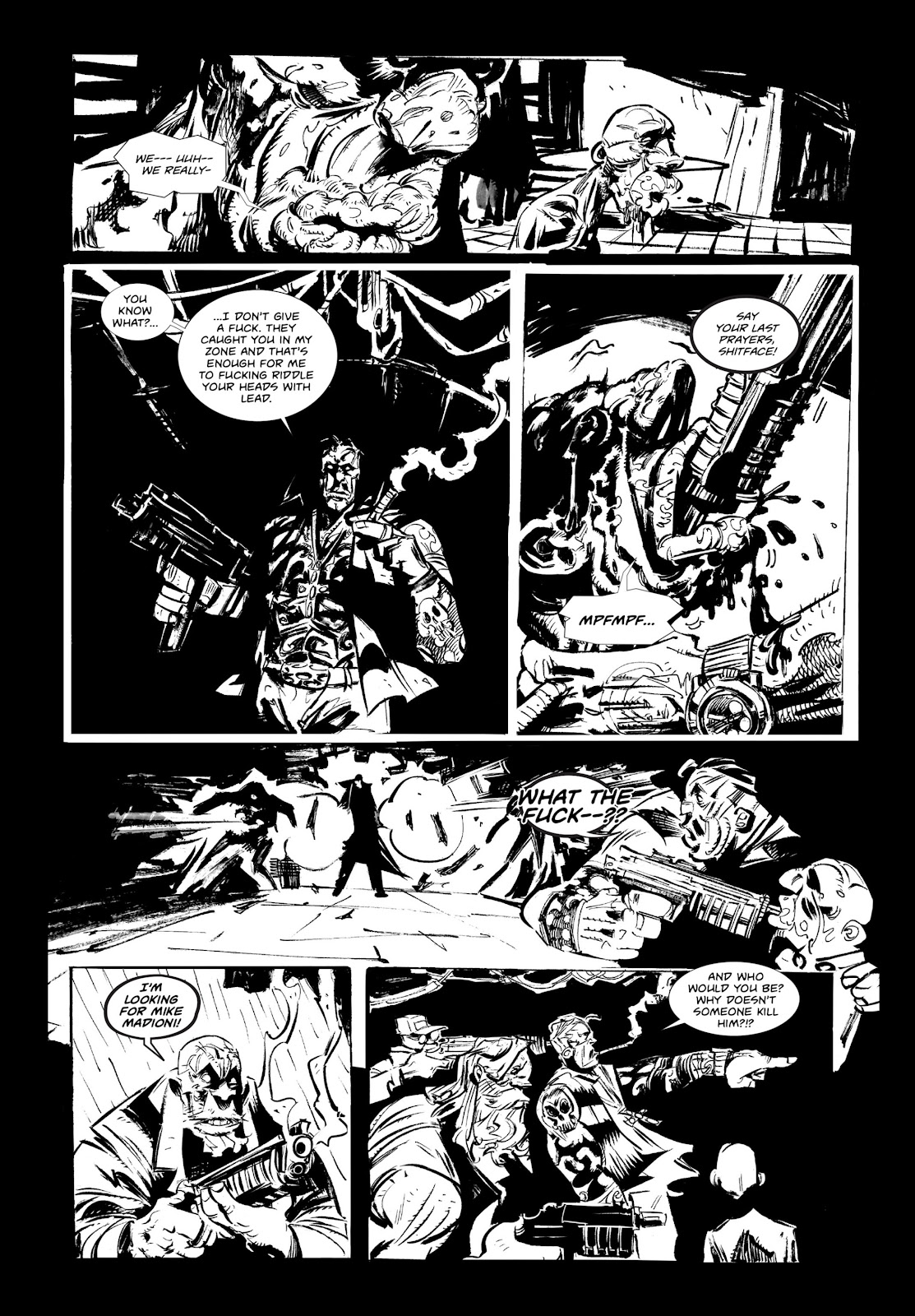 Read online Wrath of God comic -  Issue # _TPB - 13
