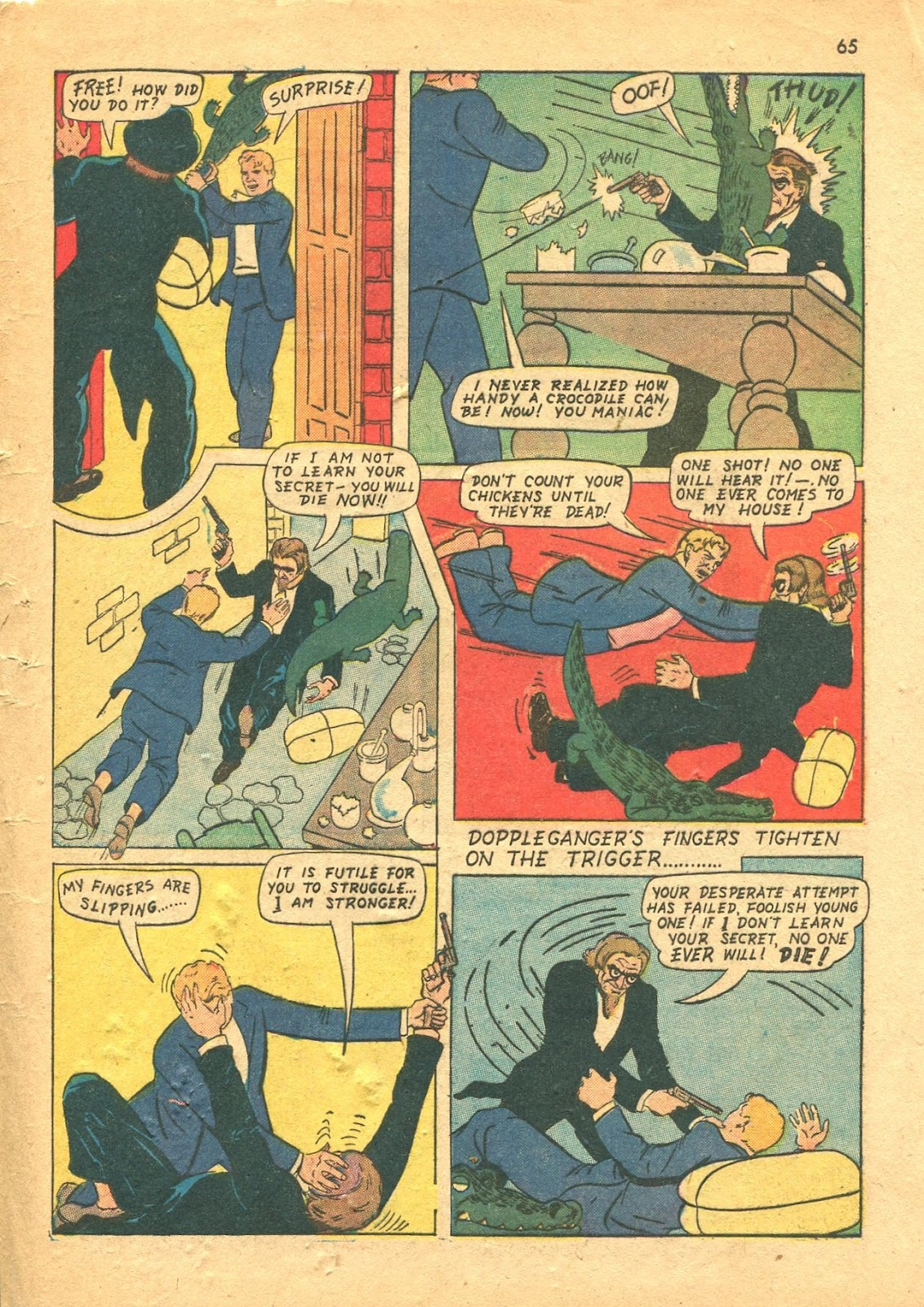 Read online Super-Magician Comics comic -  Issue #18 - 64