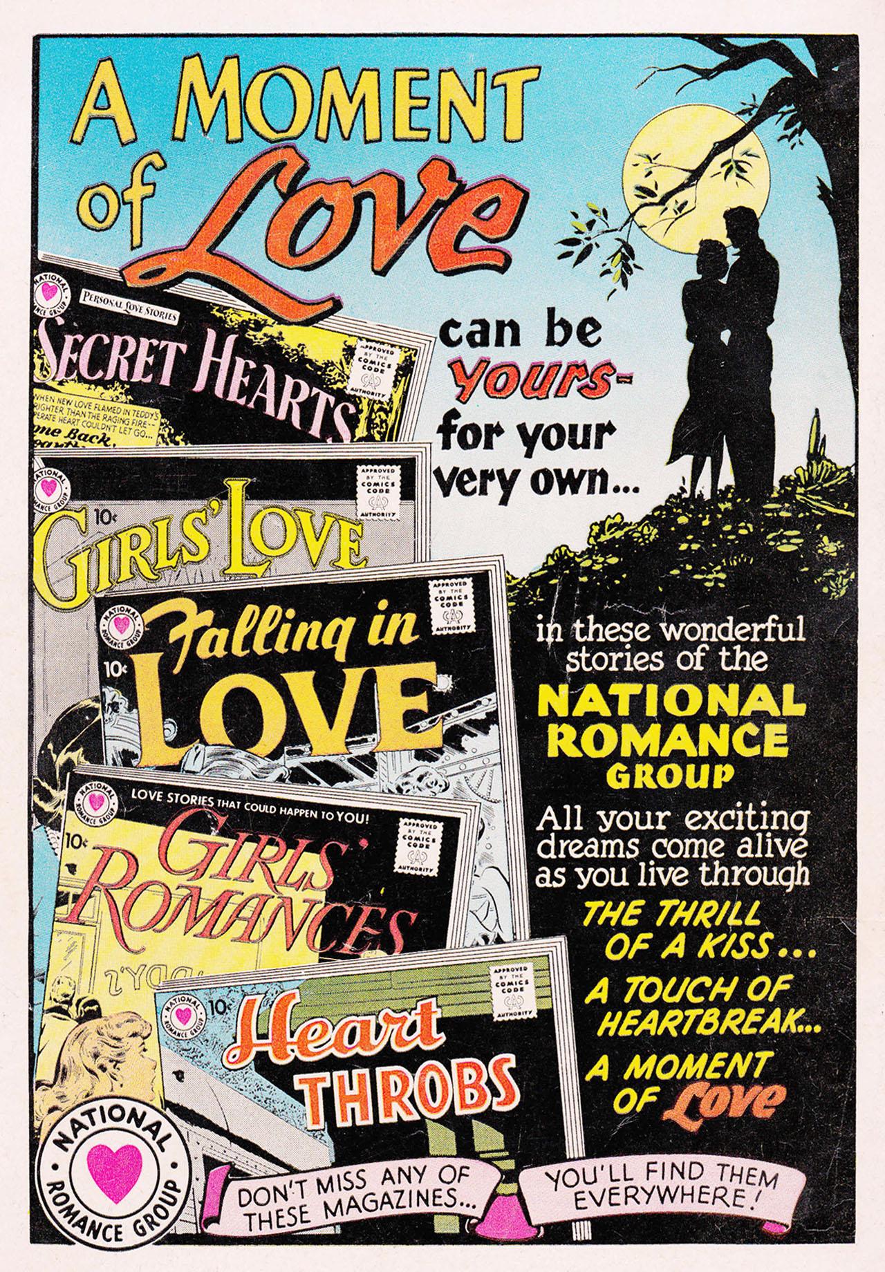 Read online Secret Hearts comic -  Issue #75 - 36