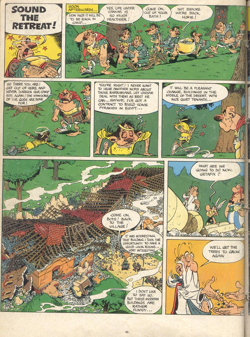 Read online Asterix comic -  Issue #17 - 44