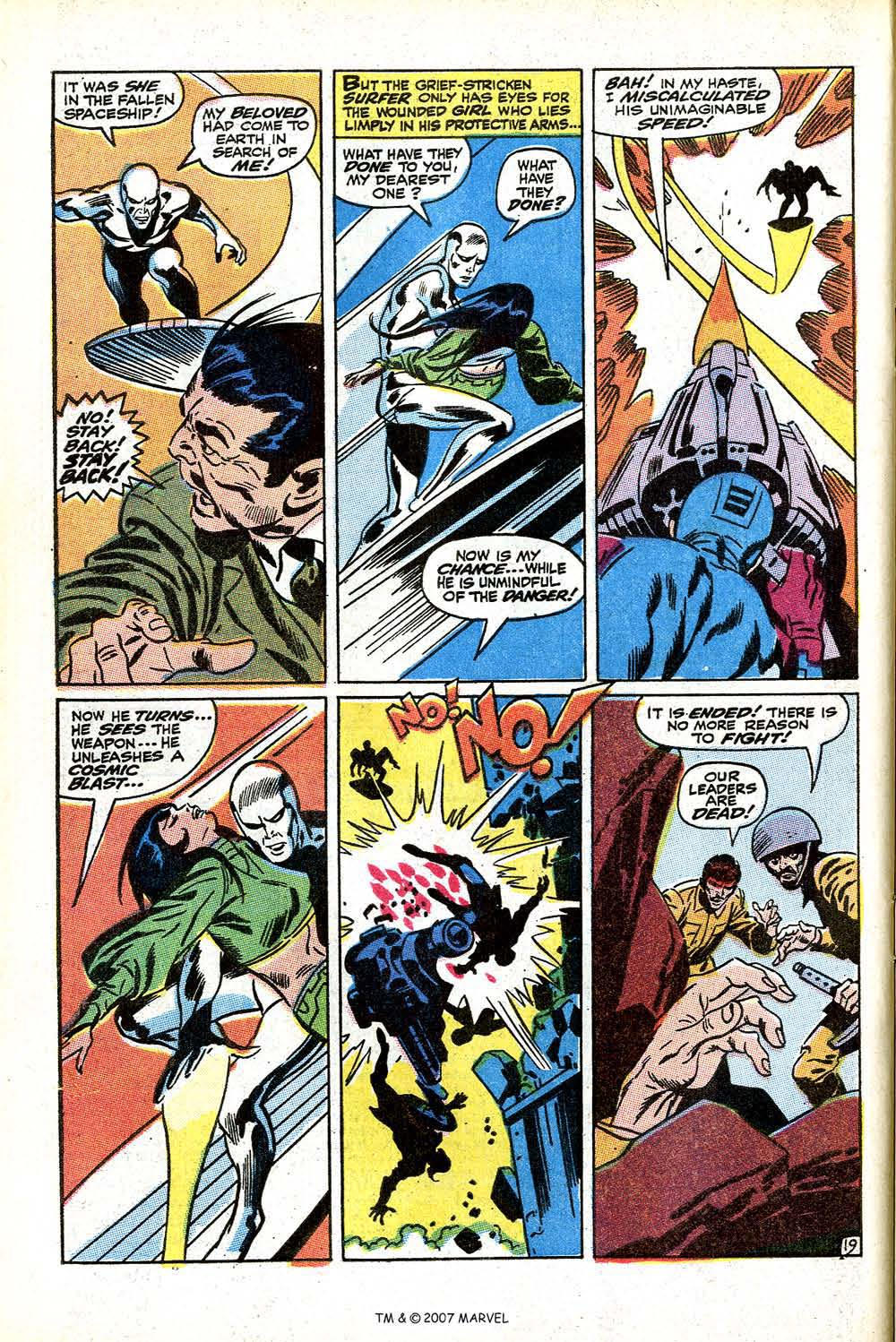 Read online Silver Surfer (1968) comic -  Issue #11 - 28
