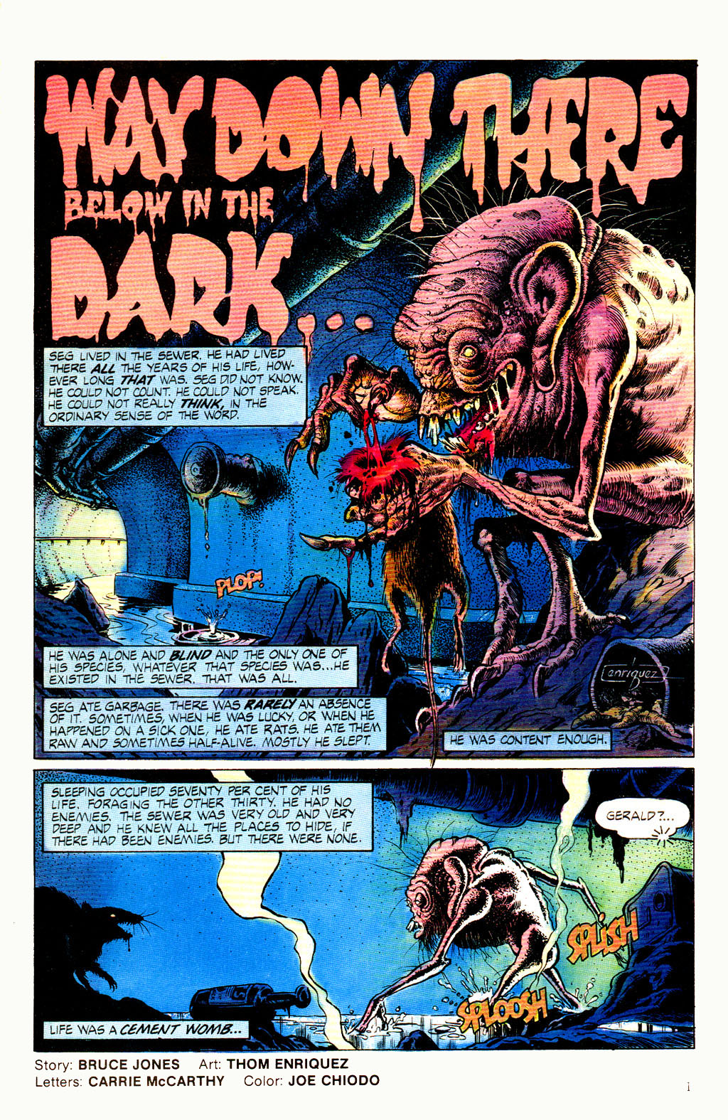 Read online Twisted Tales (1982) comic -  Issue #8 - 3