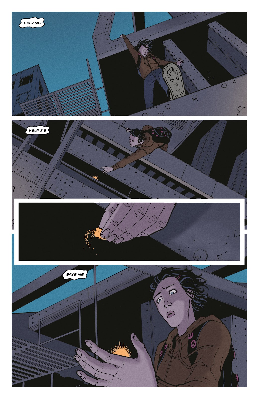 Read online She Could Fly comic -  Issue # _TPB - 37