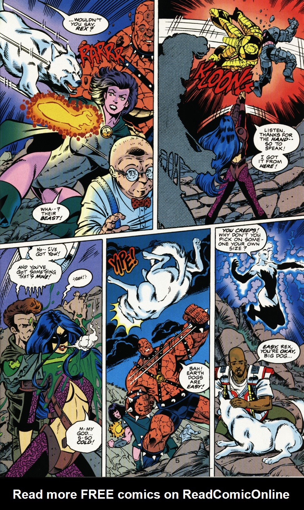 Read online Superboy & The Ravers comic -  Issue #3 - 6