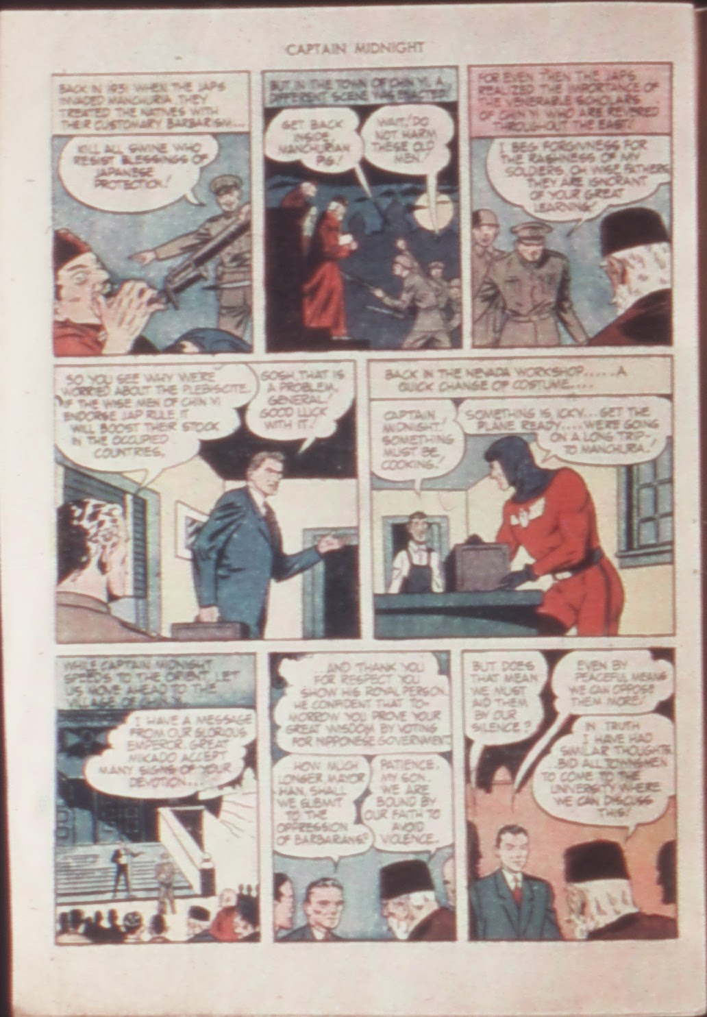 Captain Midnight (1942) issue 21 - Page 28