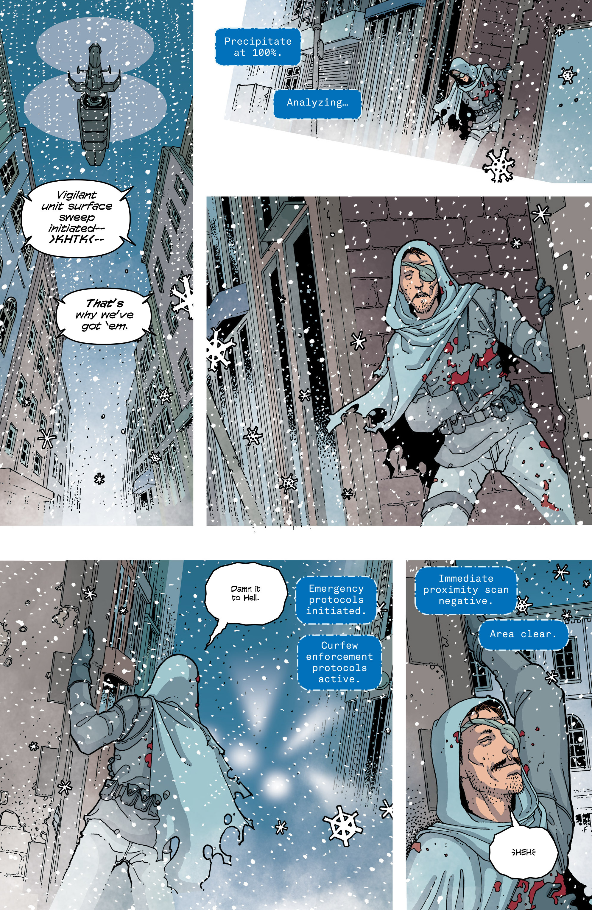 Read online Snowfall comic -  Issue #6 - 4