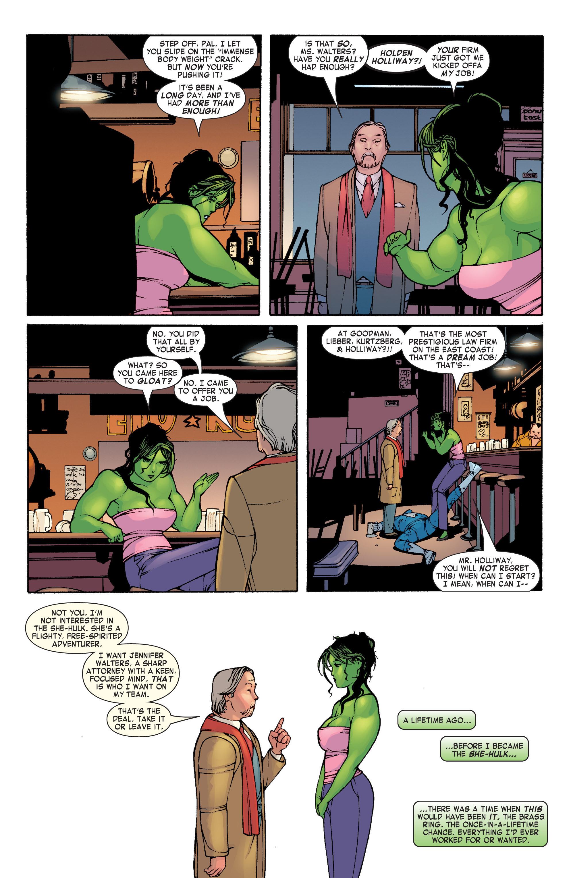 Read online She-Hulk (2004) comic -  Issue #1 - 22