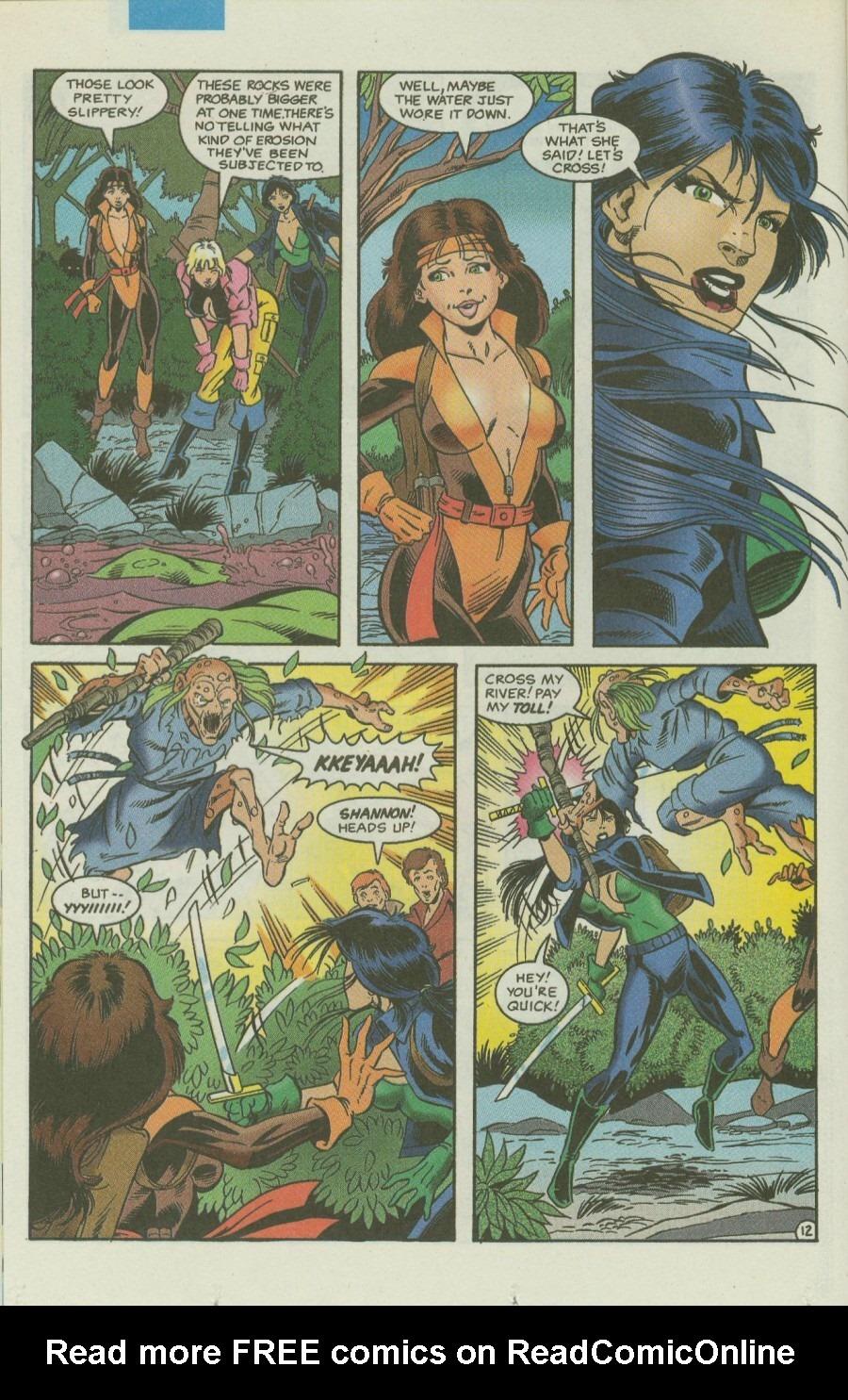 Read online Ex-Mutants comic -  Issue #4 - 15