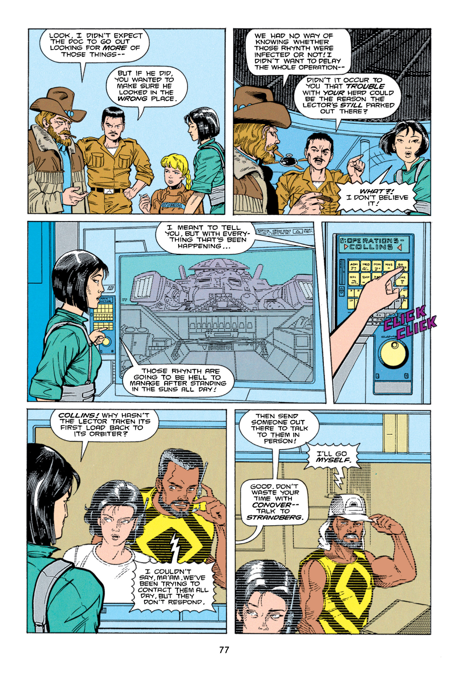 Read online Aliens vs. Predator Omnibus comic -  Issue # _TPB 1 Part 1 - 77