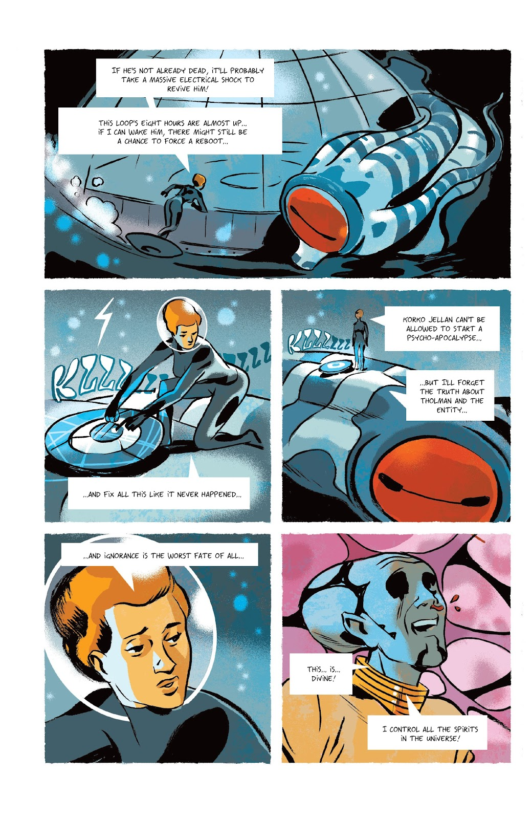 Read online Infinity 8 comic -  Issue #9 - 29