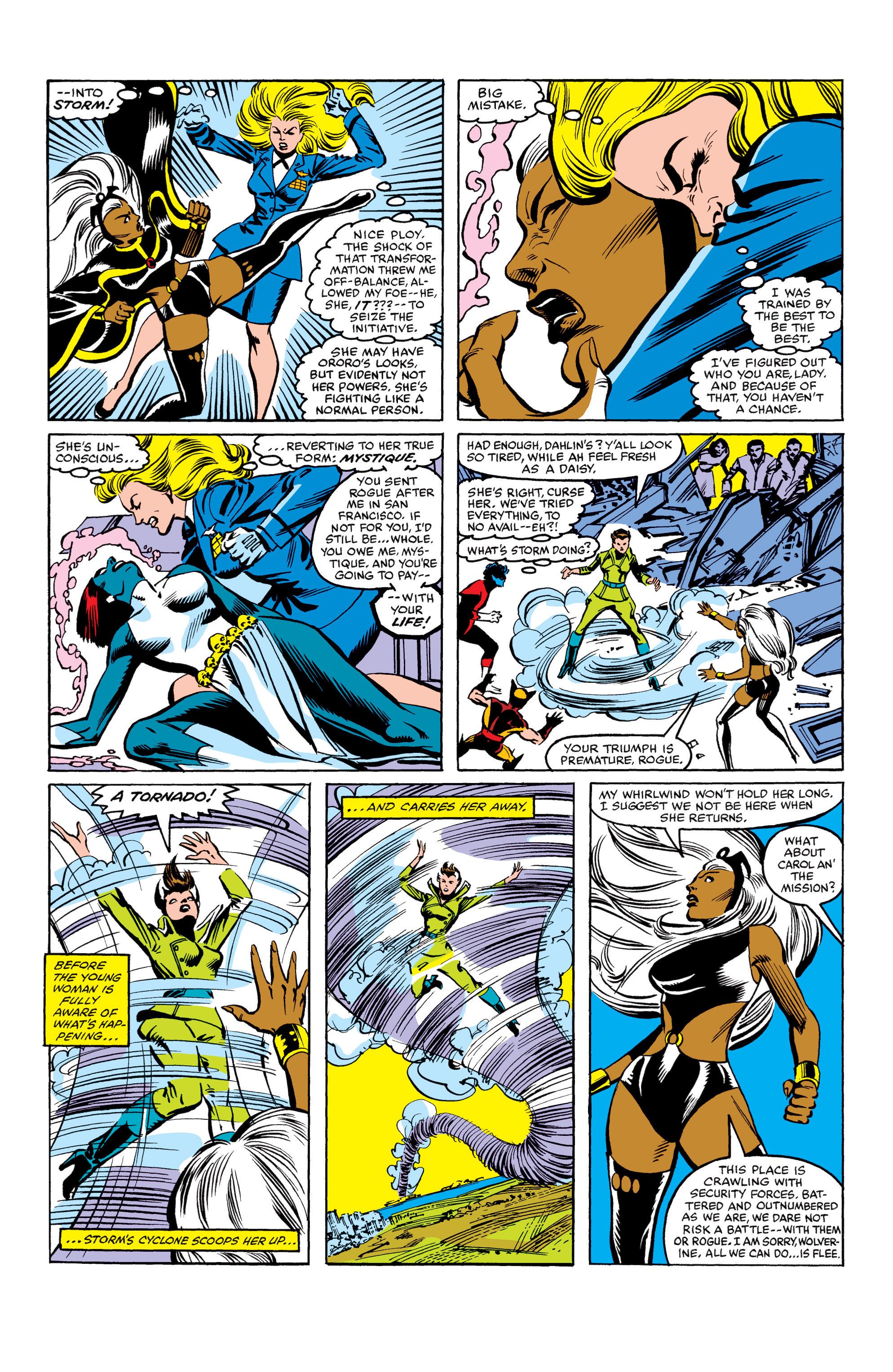 Read online Uncanny X-Men (1963) comic -  Issue #158 - 21