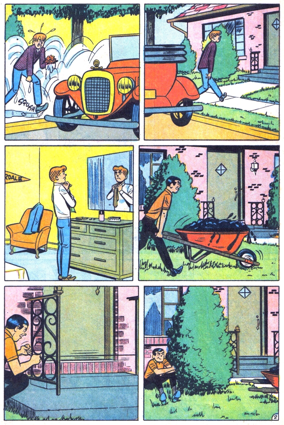 Read online Archie (1960) comic -  Issue #178 - 4