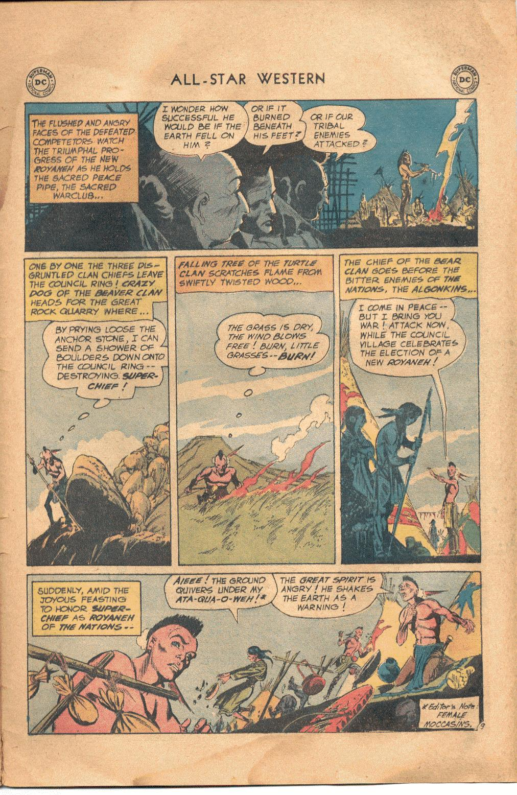 Read online All-Star Western (1951) comic -  Issue #117 - 28