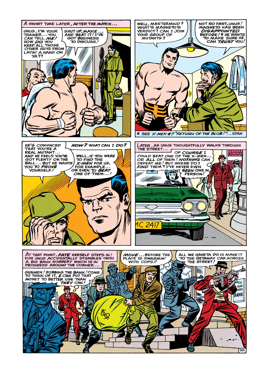 Uncanny X-Men (1963) 8 Page 10
