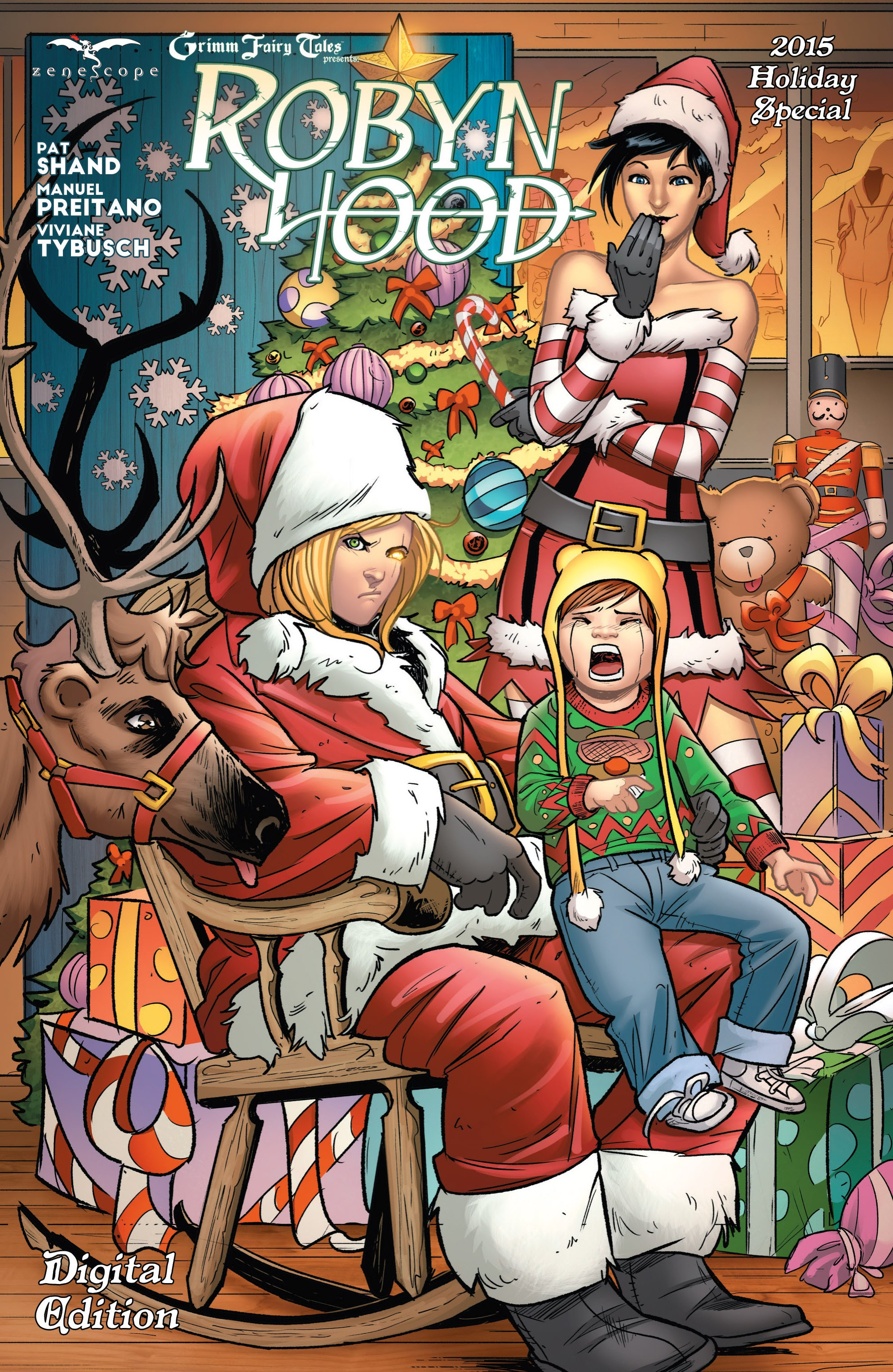 Grimm Fairy Tales presents Robyn Hood 2015 Holiday Special Full Page 1