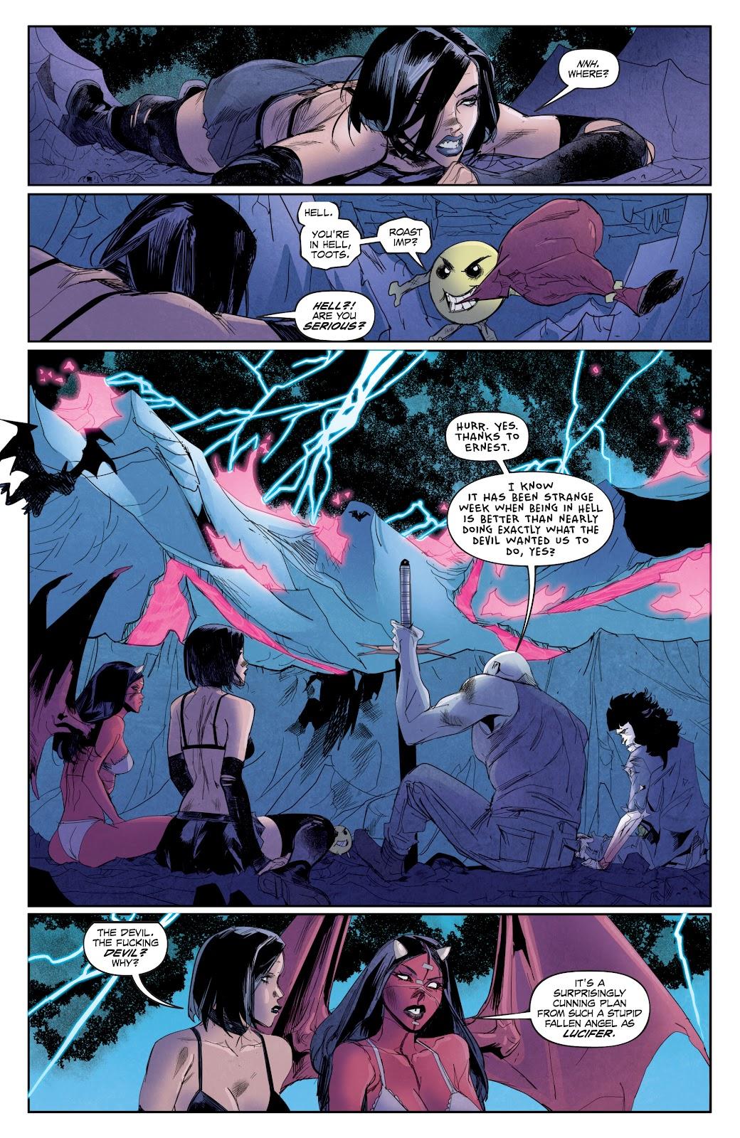 Read online Hack/Slash vs. Chaos comic -  Issue #4 - 21