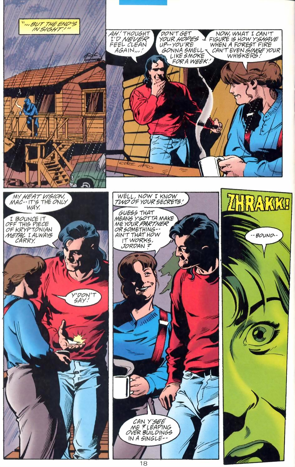 Read online Adventures of Superman (1987) comic -  Issue #524 - 19