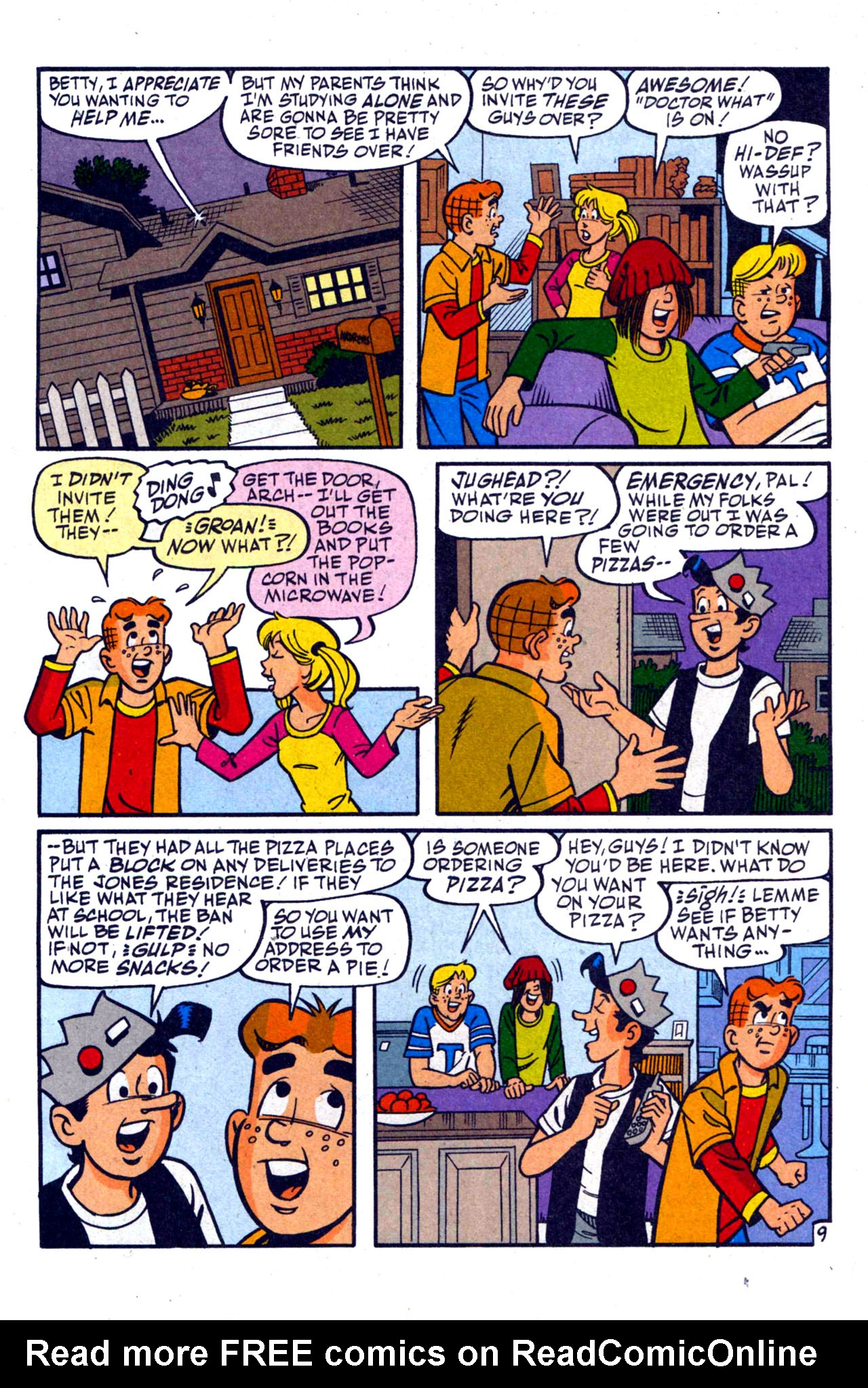 Read online Archie (1960) comic -  Issue #590 - 15