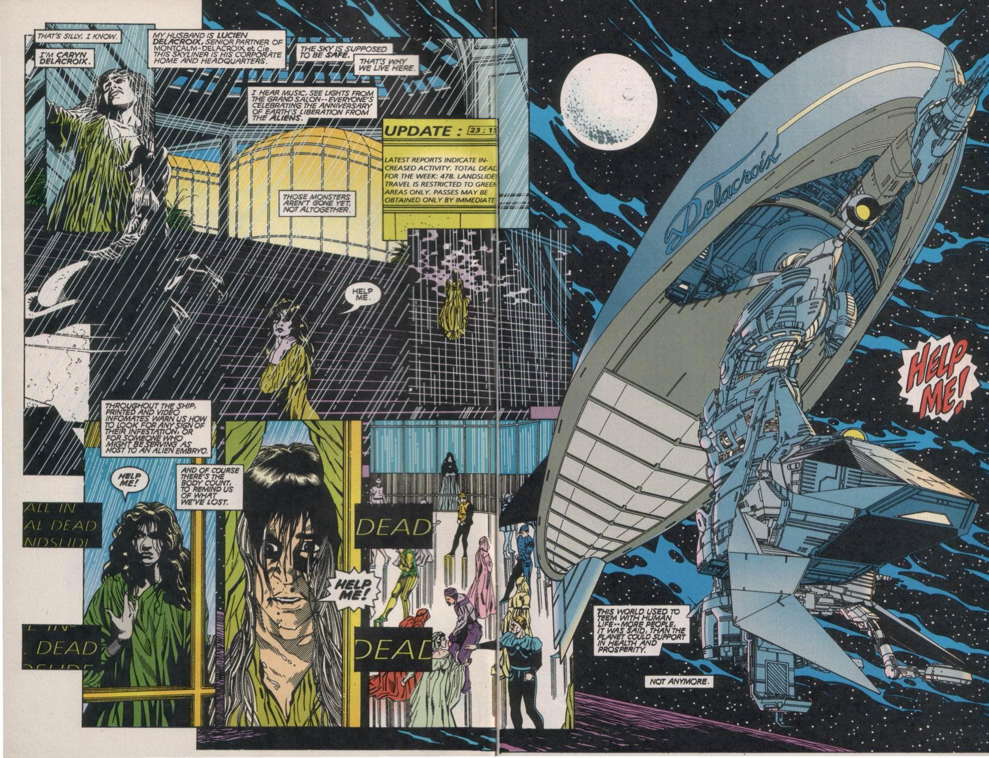 Read online Aliens/Predator: The Deadliest of the Species comic -  Issue #1 - 4