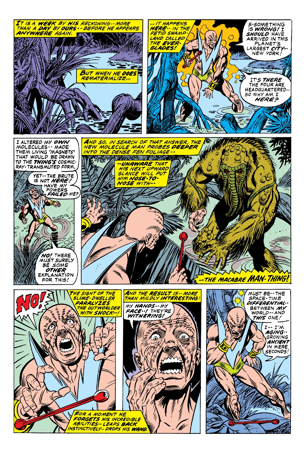 Read online Marvel Two-In-One Epic Collection: Cry Monster comic -  Issue # TPB (Part 1) - 52