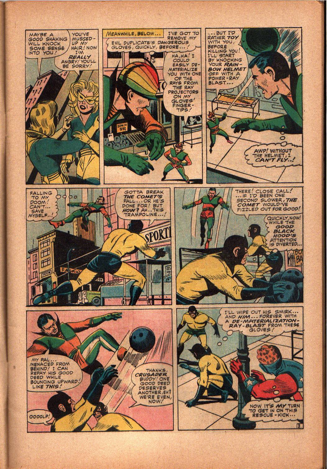 The Mighty Crusaders (1965) Issue #3 #3 - English 4