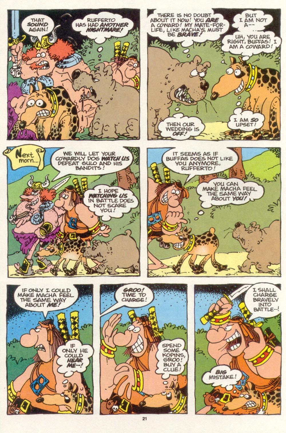 Read online Sergio Aragonés Groo the Wanderer comic -  Issue #117 - 23