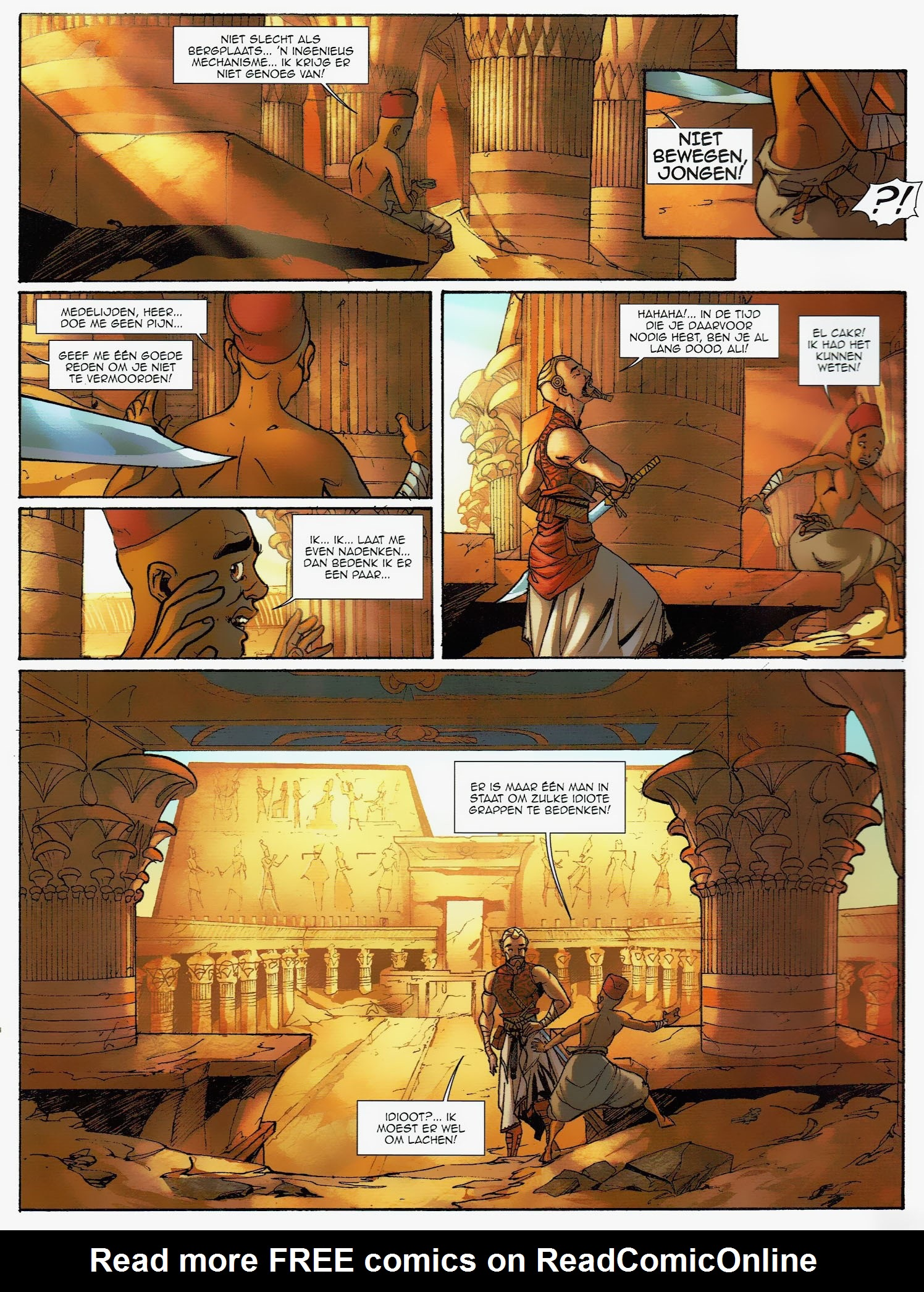 Read online Assassin's Creed (2009) comic -  Issue #6 - 22