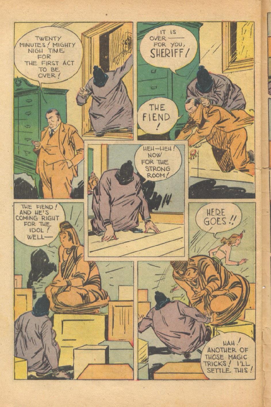 Read online Super-Magician Comics comic -  Issue #37 - 47