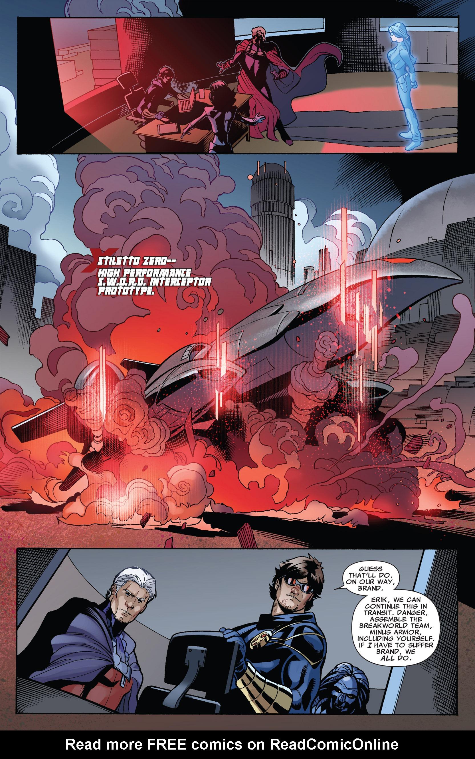 Read online Uncanny X-Men (1963) comic -  Issue #535 - 16