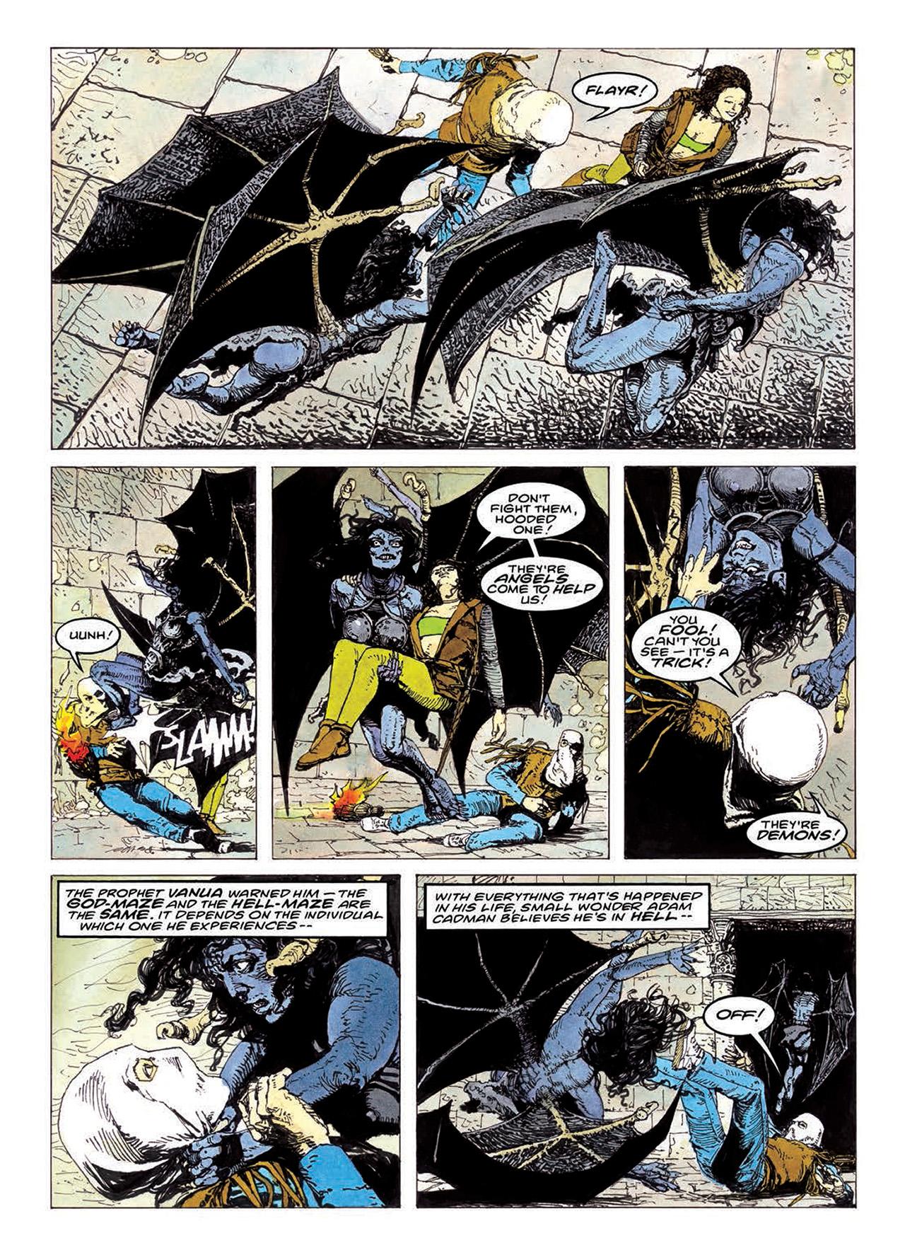 Read online Mazeworld comic -  Issue # TPB - 151