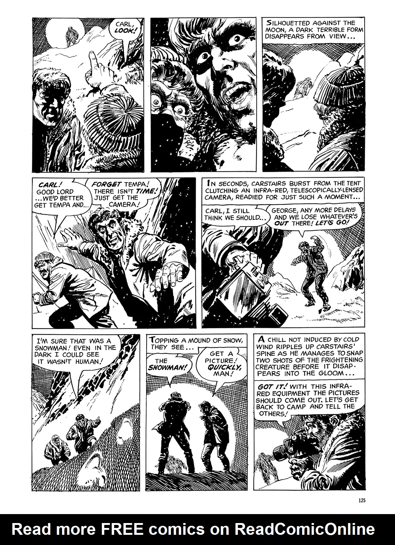 Read online Eerie Archives comic -  Issue # TPB 6 - 125