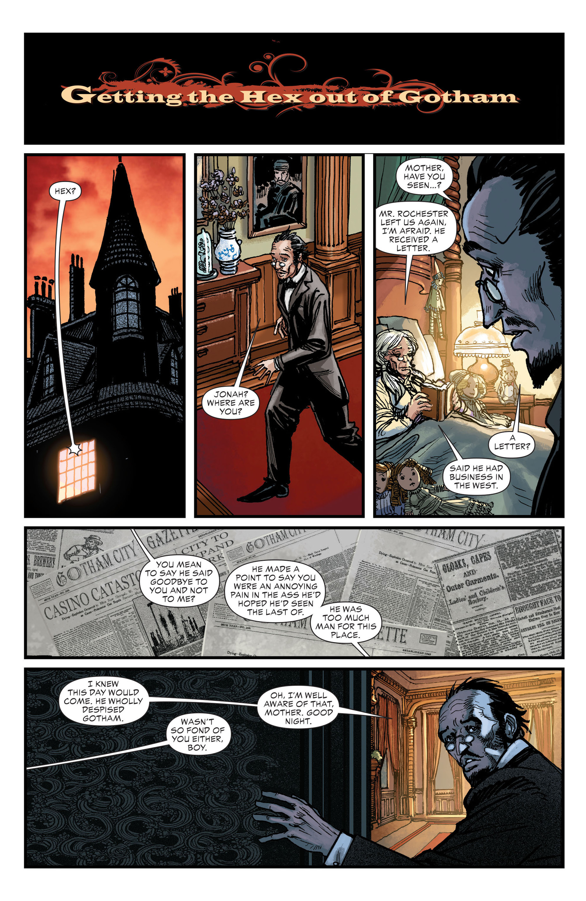 Read online All-Star Western (2011) comic -  Issue #18 - 18