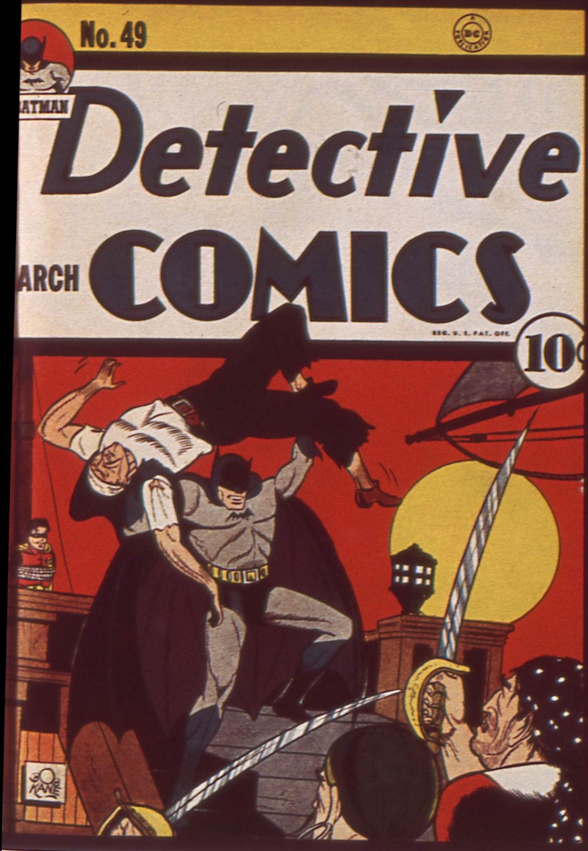Read online Detective Comics (1937) comic -  Issue #49 - 1