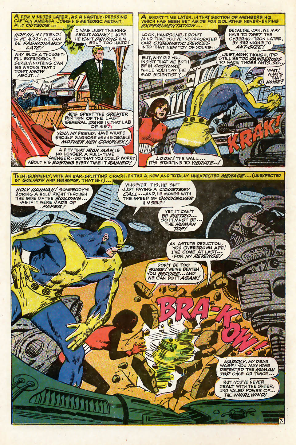 The Avengers (1963) 46 Page 7