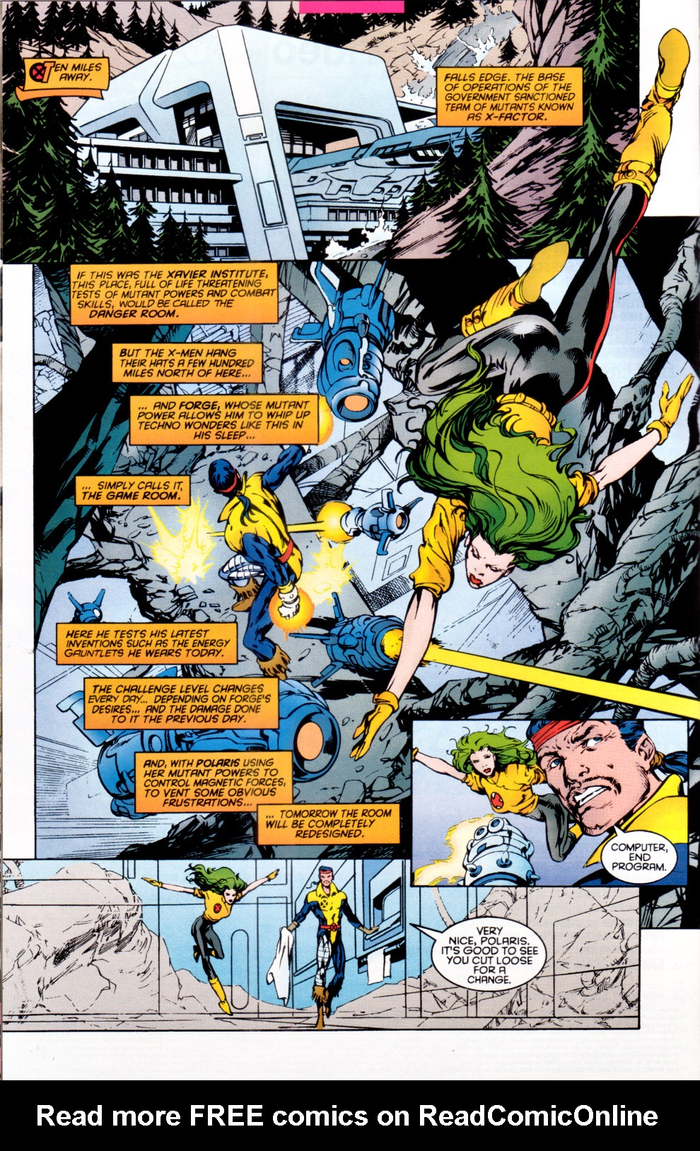 Read online X-Factor (1986) comic -  Issue #118 - 8