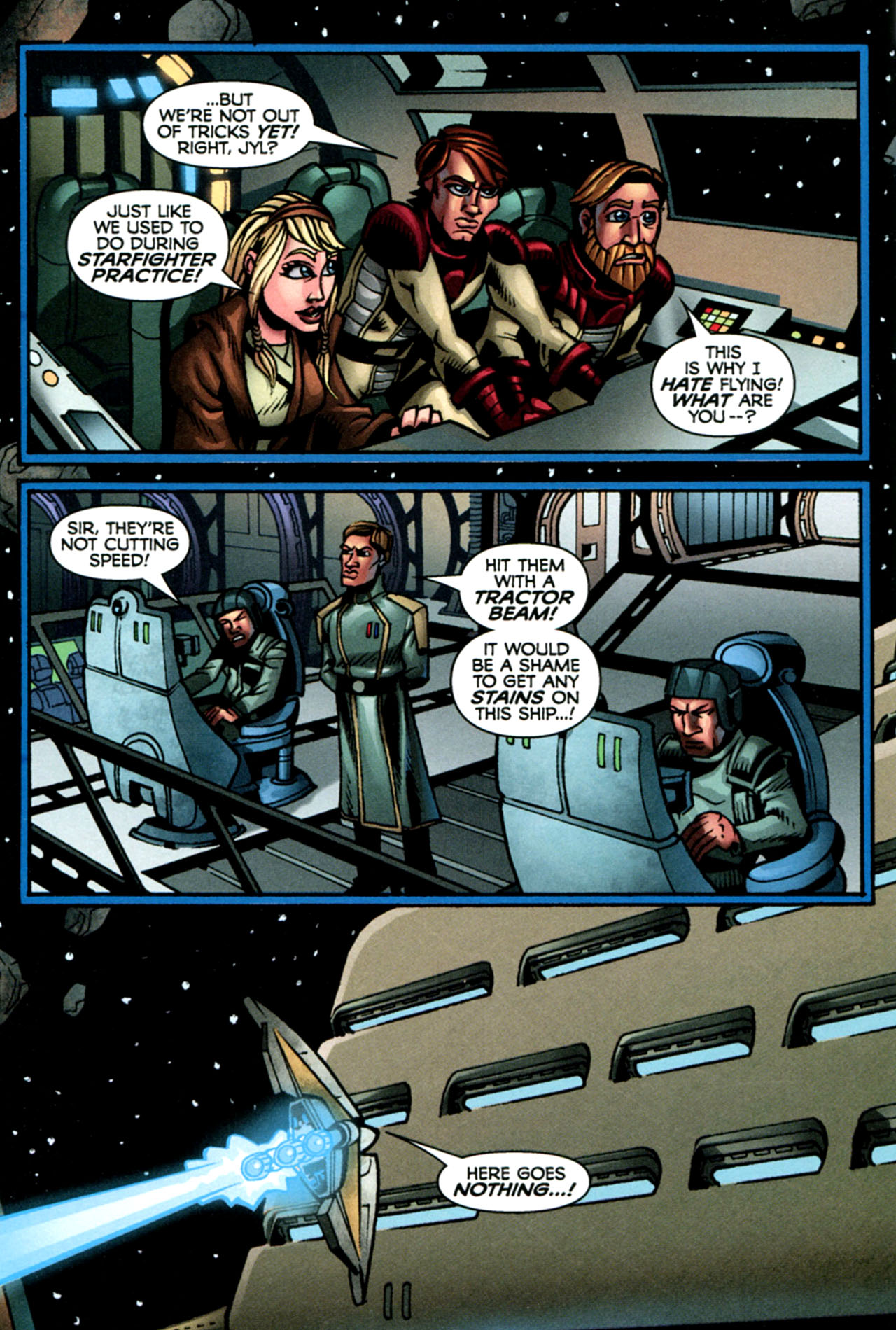 Read online Star Wars: The Clone Wars - The Starcrusher Trap comic -  Issue # Full - 19