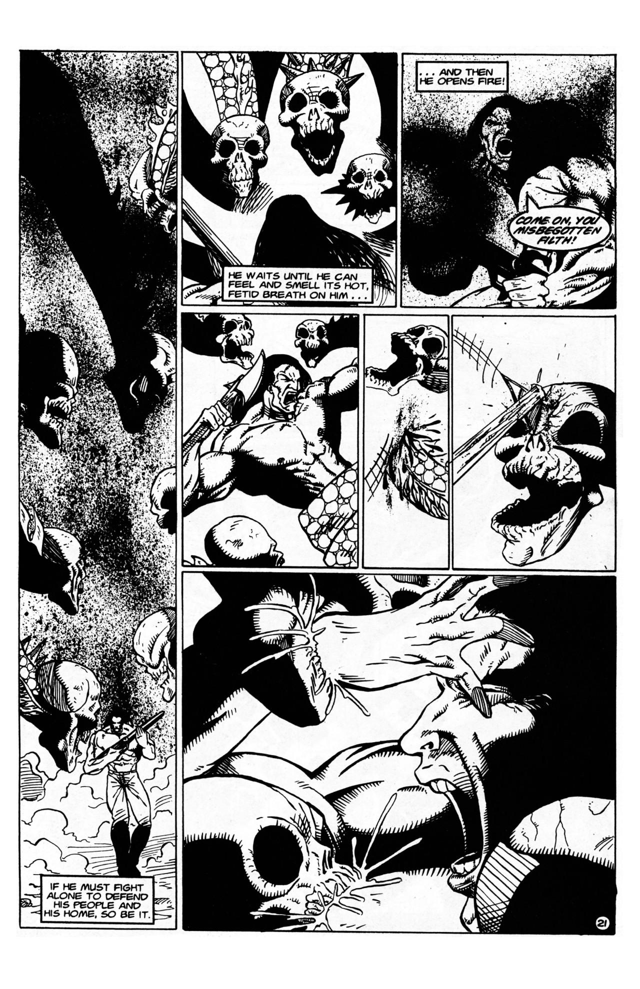 Read online Dr. Weird (1997) comic -  Issue #1 - 23