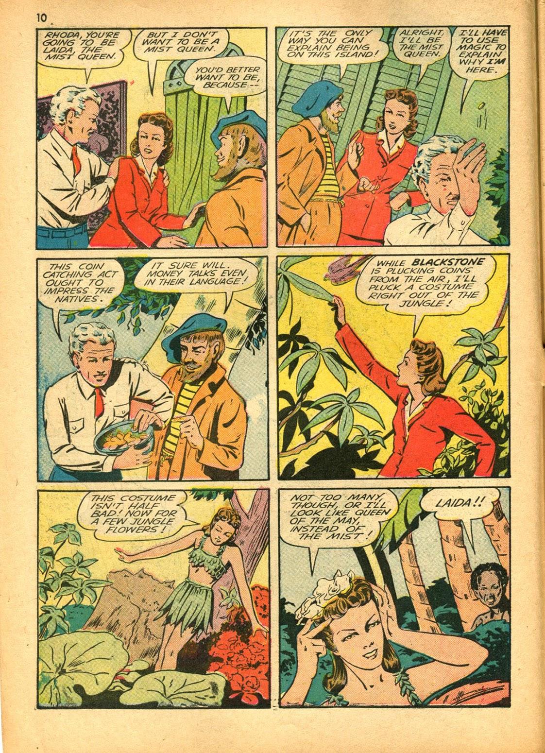 Read online Super-Magician Comics comic -  Issue #15 - 10